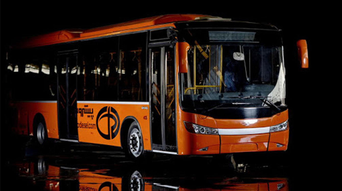 باتری مناسب اتوبوس شهری پیشرو